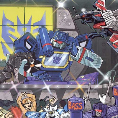 soundwave transformers as a dj