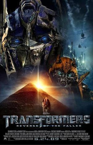 revenge of the fallen movie poster