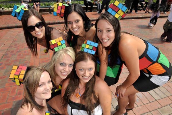rublicks cube cosplay girls