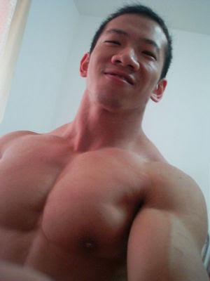 korean muscle guys