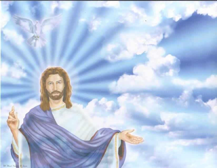 Christmas Backgrounds: Jesus Backgrounds, Jesus Myspace ...