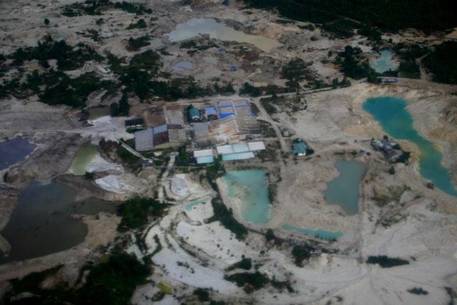 Salah satu sudut bopeng Pulau Belitung