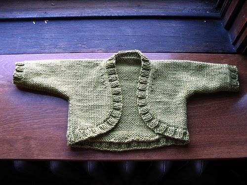 Knit Jones Baby Shrug
