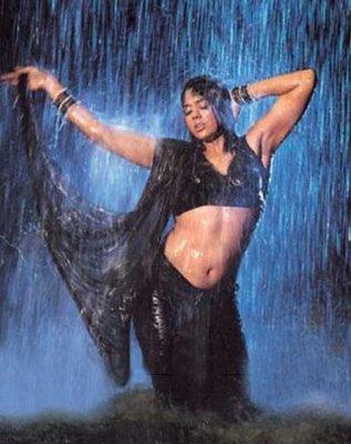 Sameera Reddy Hot Saree