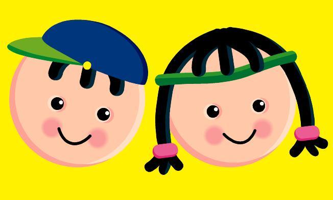 Dibujos Caras De Niños Felices Animadas: Caricaturas De Caritas De Niños Felices