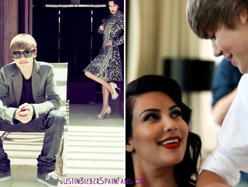 Kim Kardashian seduce a Justin Bieber en la revista Elle ...