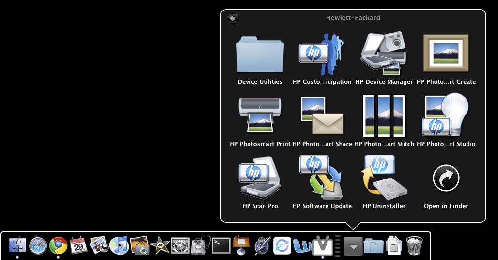 My MacBook Mini: Printer Sharing in Mac OS X