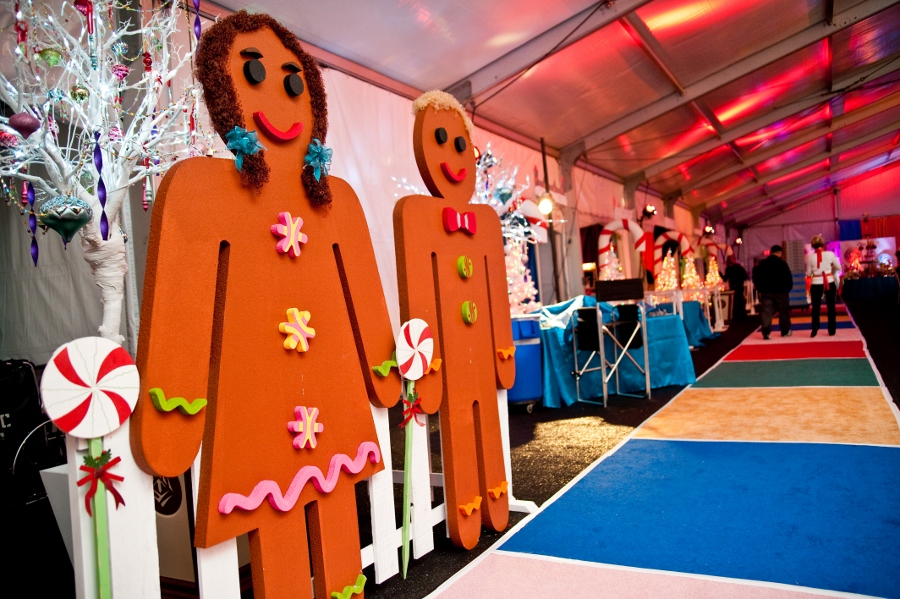 Studio B Event Designs Candy Land Themed Holiday Party