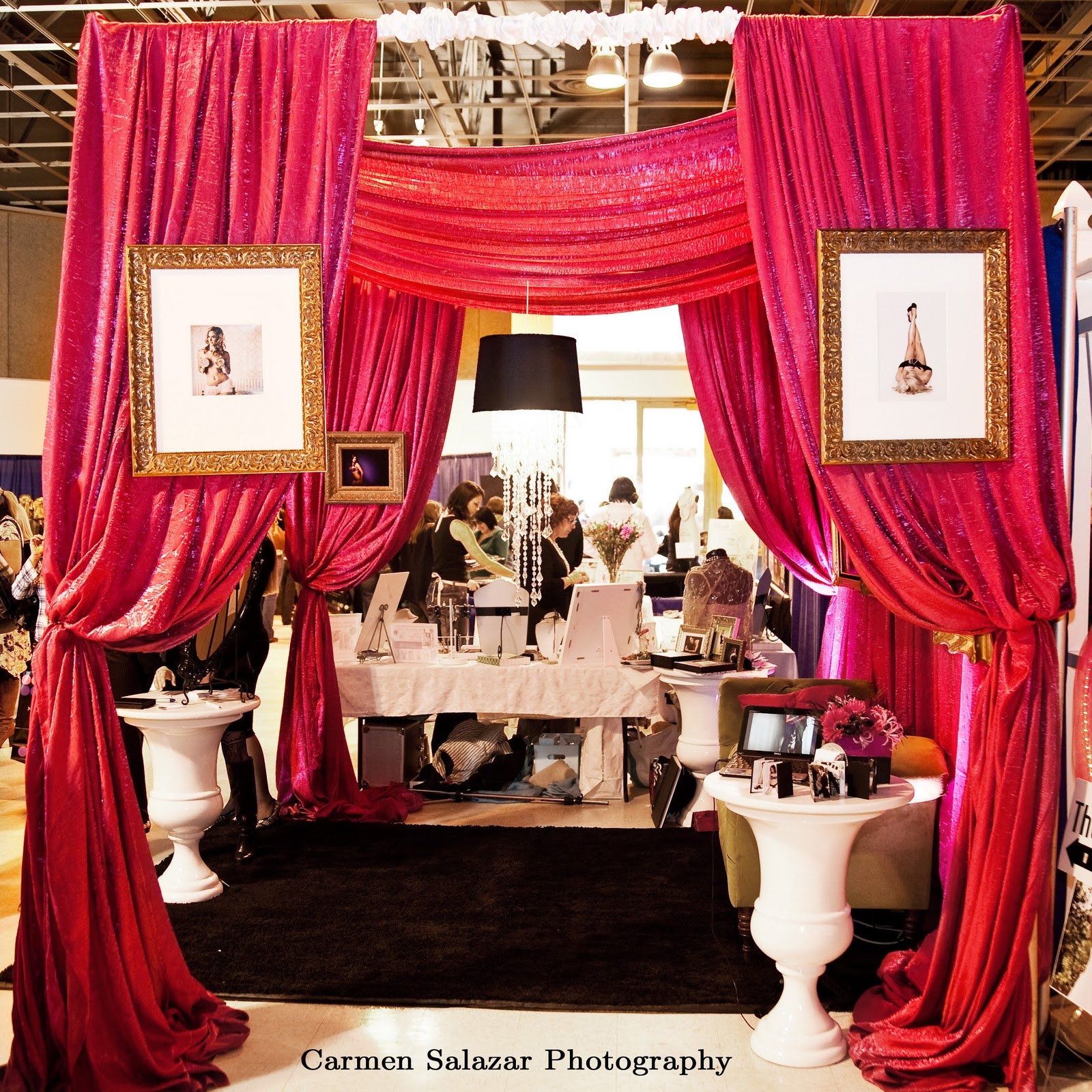 bridal booths booth event display designs studio designer expo fair shows vendor drape pipe draping curtains