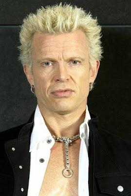 billy idol blonde punk hairstyle cool men s hair