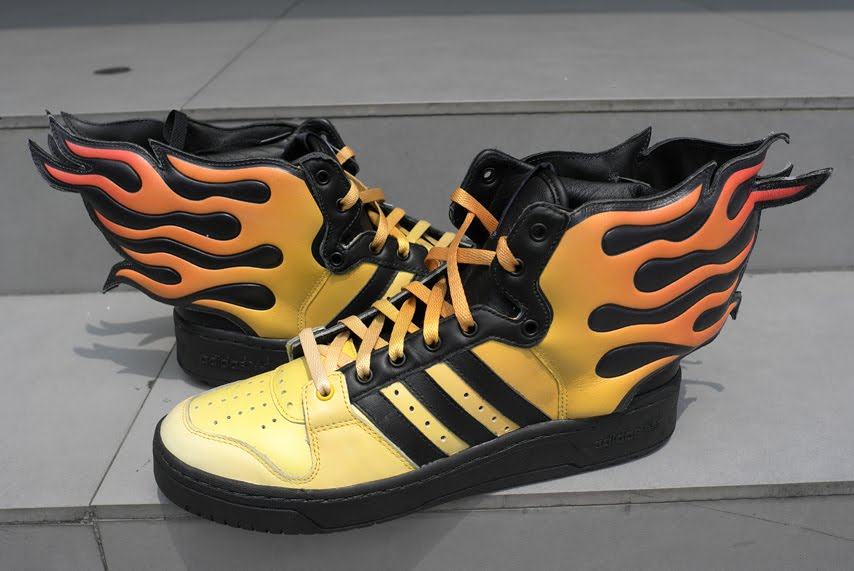 watch 3a2d1 a528d ... Jeremy Scott for adidas ObyO. adidas ObyO JS Flames ...