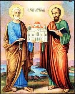 Traditii si obiceiuri de Sfintii Apostoli Petru si Pavel  |Sf. Petru Si Pavel