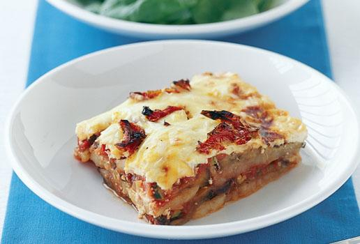 Lebanese Recipes Vegetarian Moussaka Recipe How To Make Vegetarian Moussaka