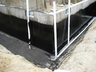 Foundation Drainage and Damp Proofing - Home Construction