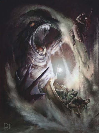 Leviathan Creature Mythical