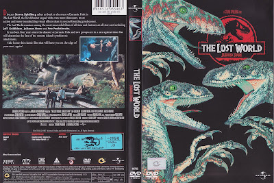Dvd Cover Zone 3 The Lost World Jurassic Park 1997