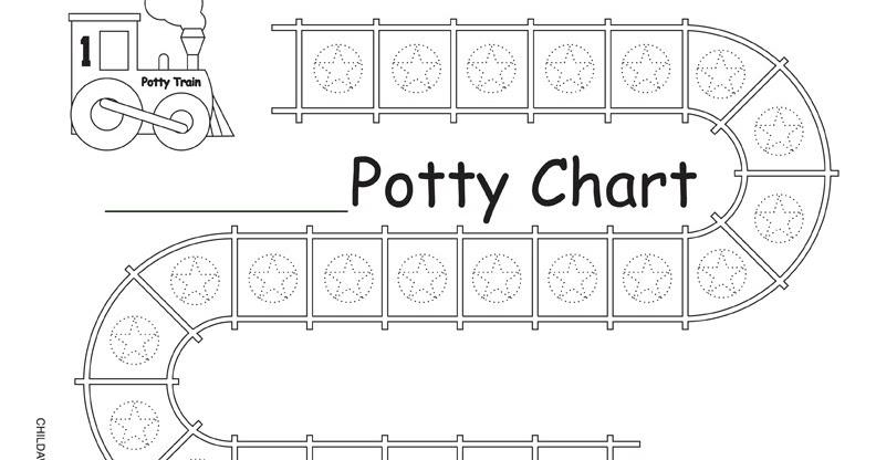 Crazy Ramblings Of A Crazy Mom: Train potty chart