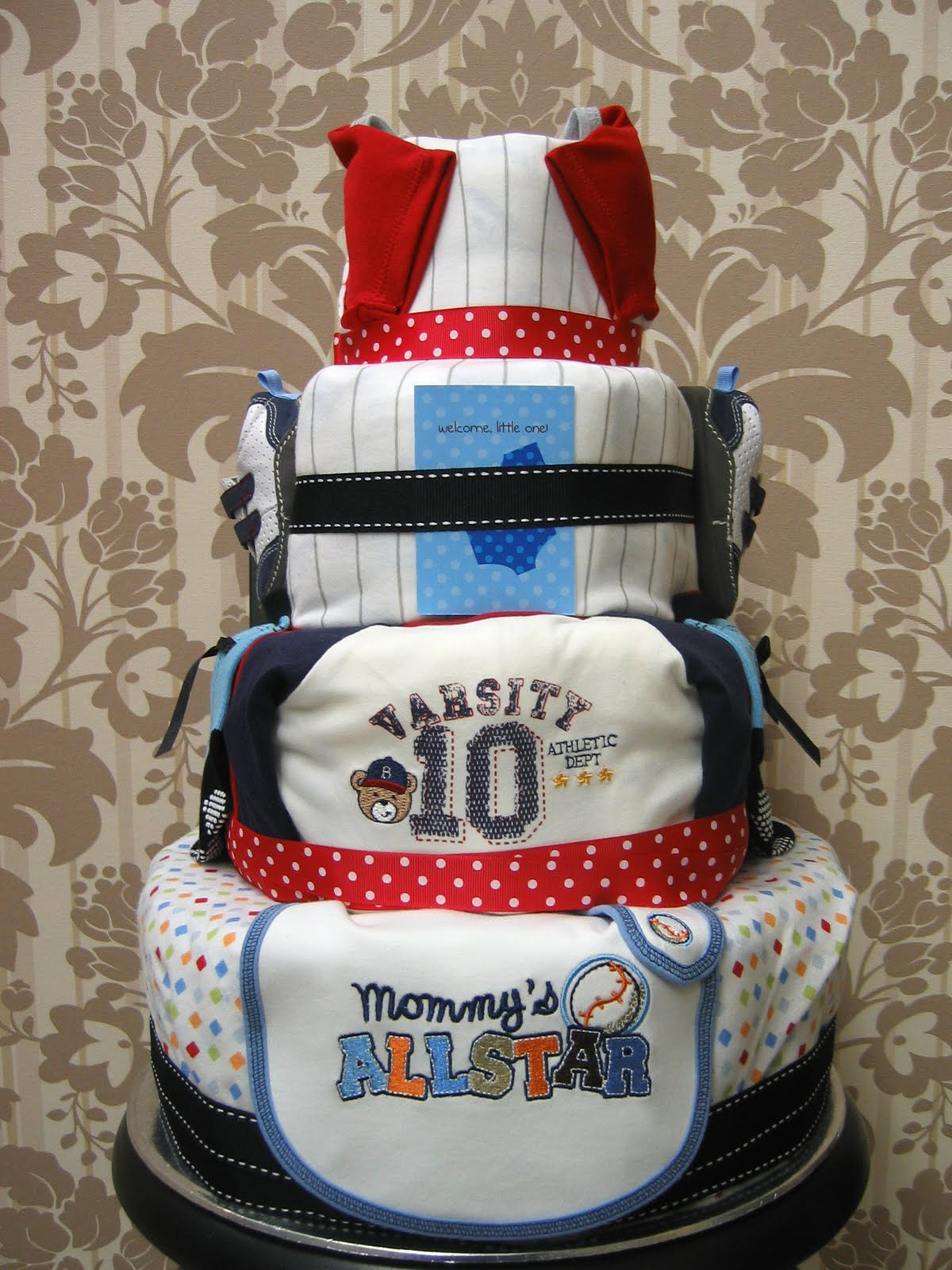 Baby Dee Diaper Cakes Baseball League Diaper Cake