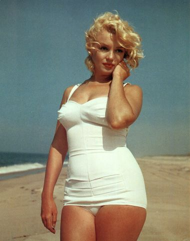 Being marilyn monroe size body famous height