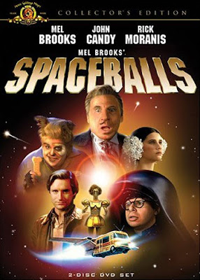 spaceballs movie poster, mel brooks, collectors edition, rick moranis