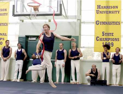 will ferrel old school, ribbon, dance, gymnastics