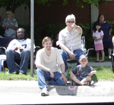 redford memorial day parade, people