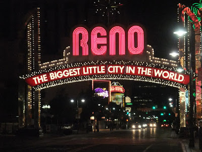 RENO sign, the biggest little city in the world