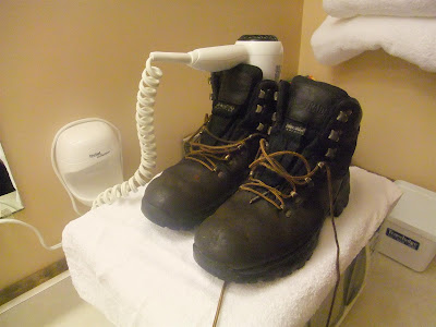 diy boot dryer, hotel hair dryer, how to dry wet boots