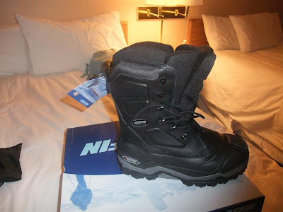 Baffin Boots, super warm, comfortable in the snow, -94 degrees