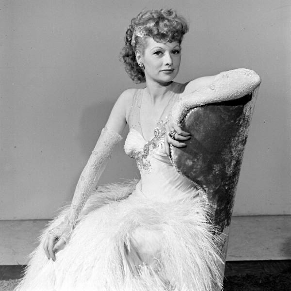 Lucille Ball On Her Wedding Night On November 30 1940