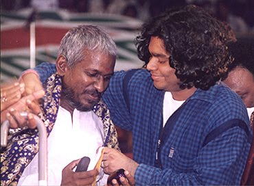 Image result for ar rahman and ilayaraja