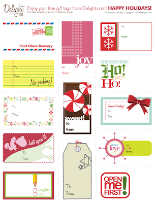 Holiday gift tags free printables retro modern geeky rays of labels from from martha stewart gift tags from delight negle Choice Image