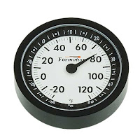 Tilted Horizons: Formotion Motorcycle Thermometer product review