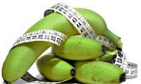 Banana verde auxilia no emagrecimento