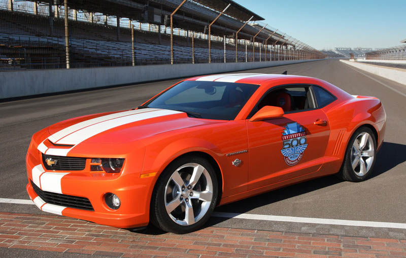 Chevrolet Camaro Ss Indy 500 Pace Car 2010
