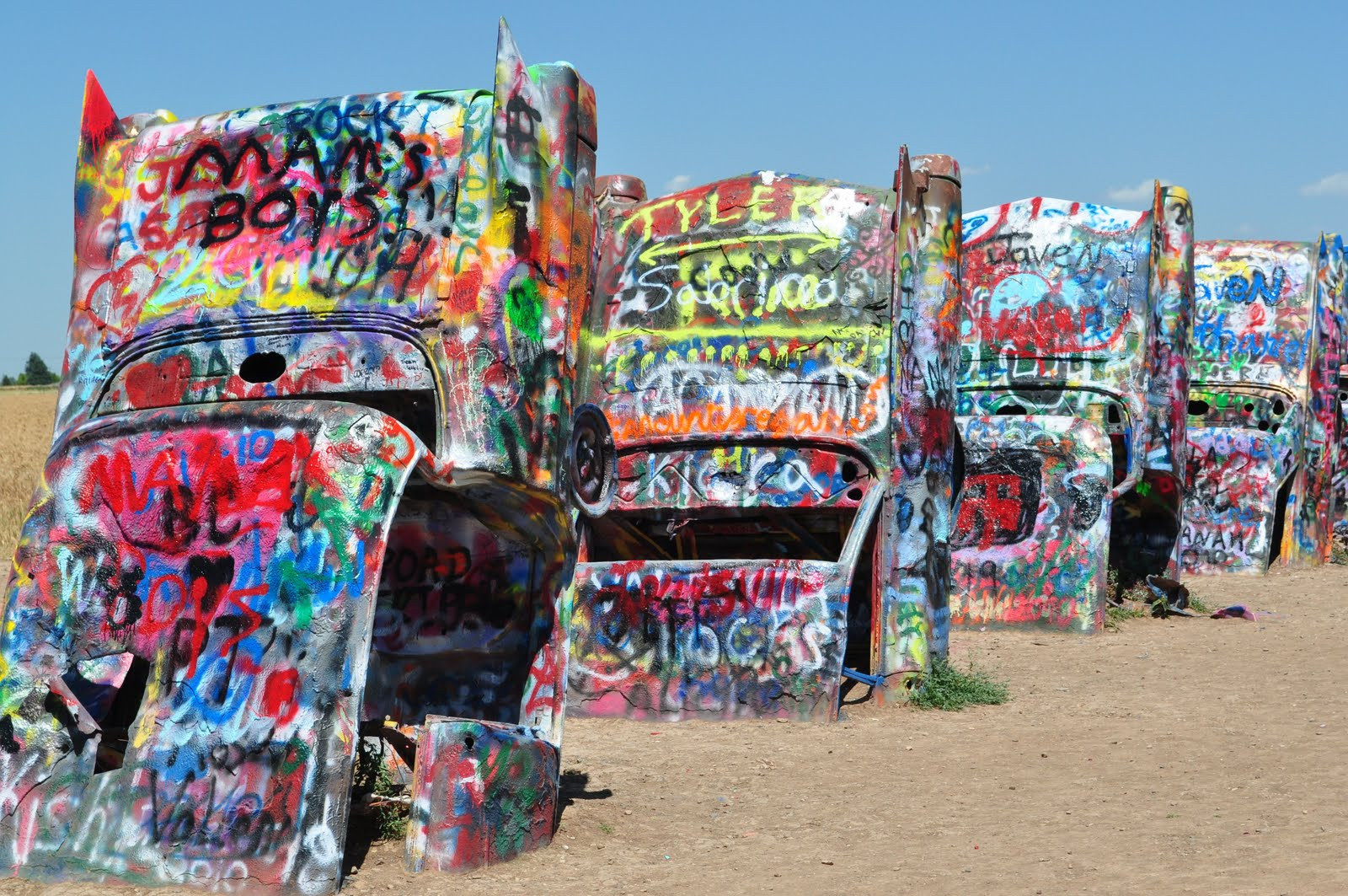 A Life in Pages: The Cadillac Ranch