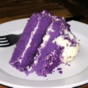 The Recipe File Ube Macapuno Cake