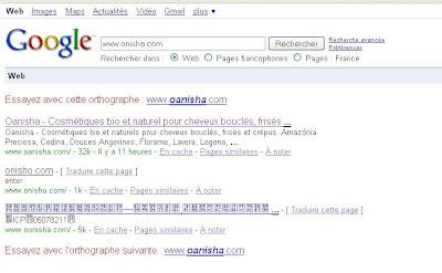 fais une recherche google