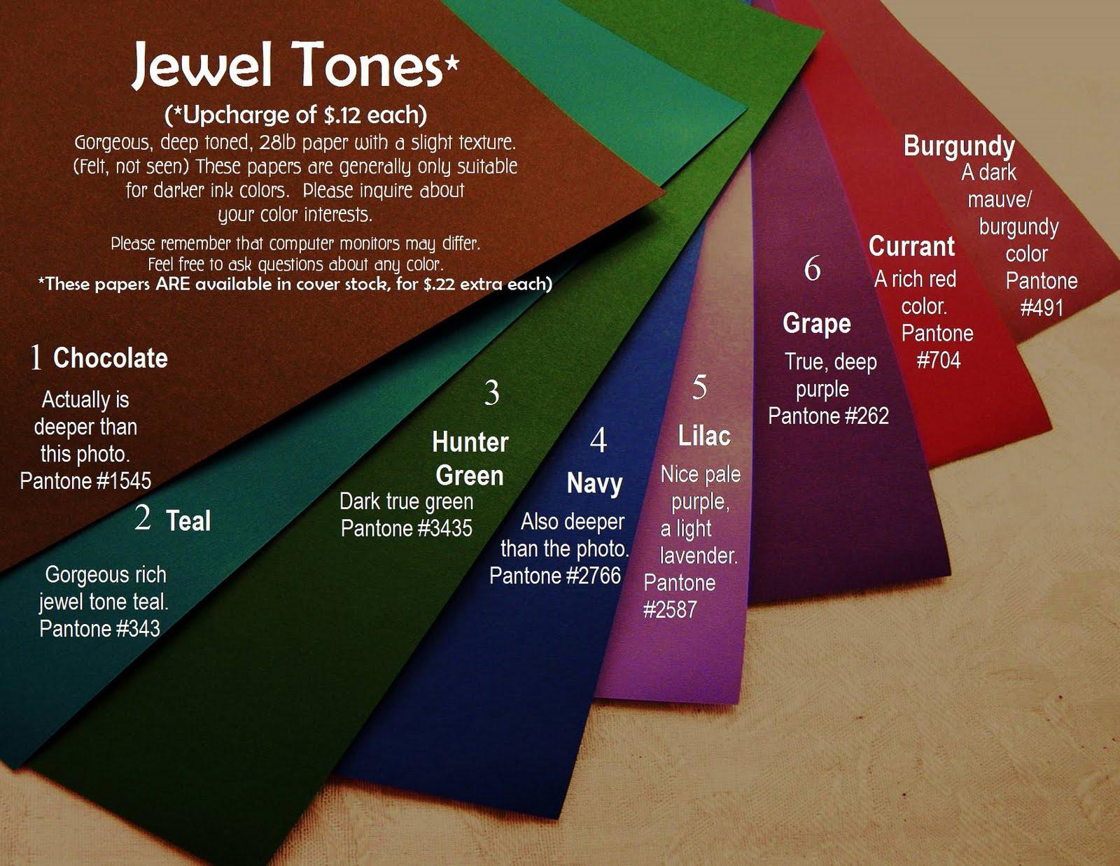 Kat 39 s krafts cootie catcher paper options - What are jewel tones ...