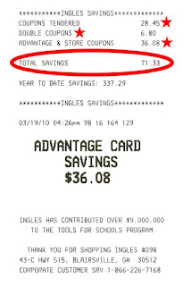 receipt savings