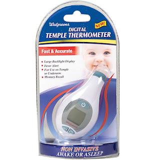 Temple Underarm Touch Premium Digital Thermometer Non Invasive 4 Second Read