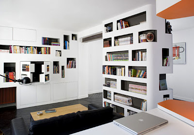 Kitaplıklar Duvar Kütüphanesi Modelleri