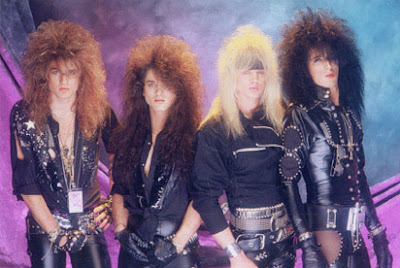 The Best Hair of the 80's Hair Metal Bands ~ Now That's Nifty