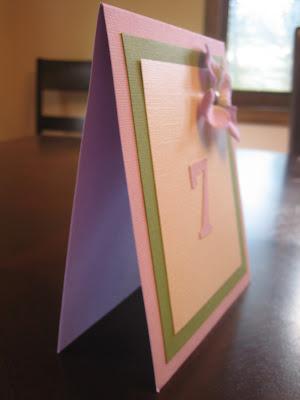 Purple Hydrangea Wedding Table Numbers