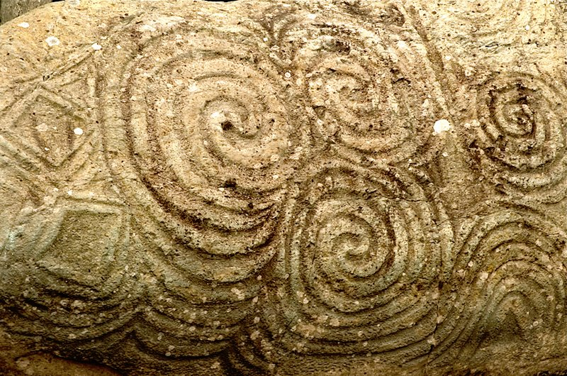 Newgrange Door Carving 2500  B.C.E.
