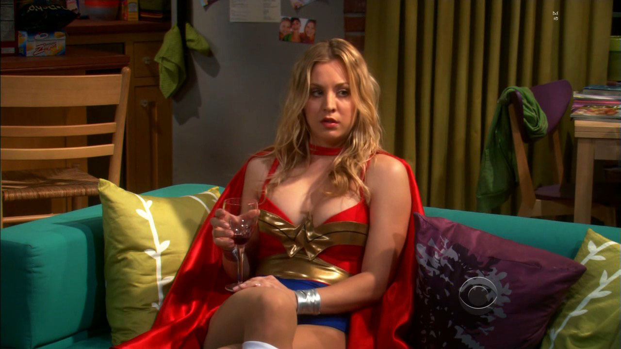 penny the big bang theory perfect body