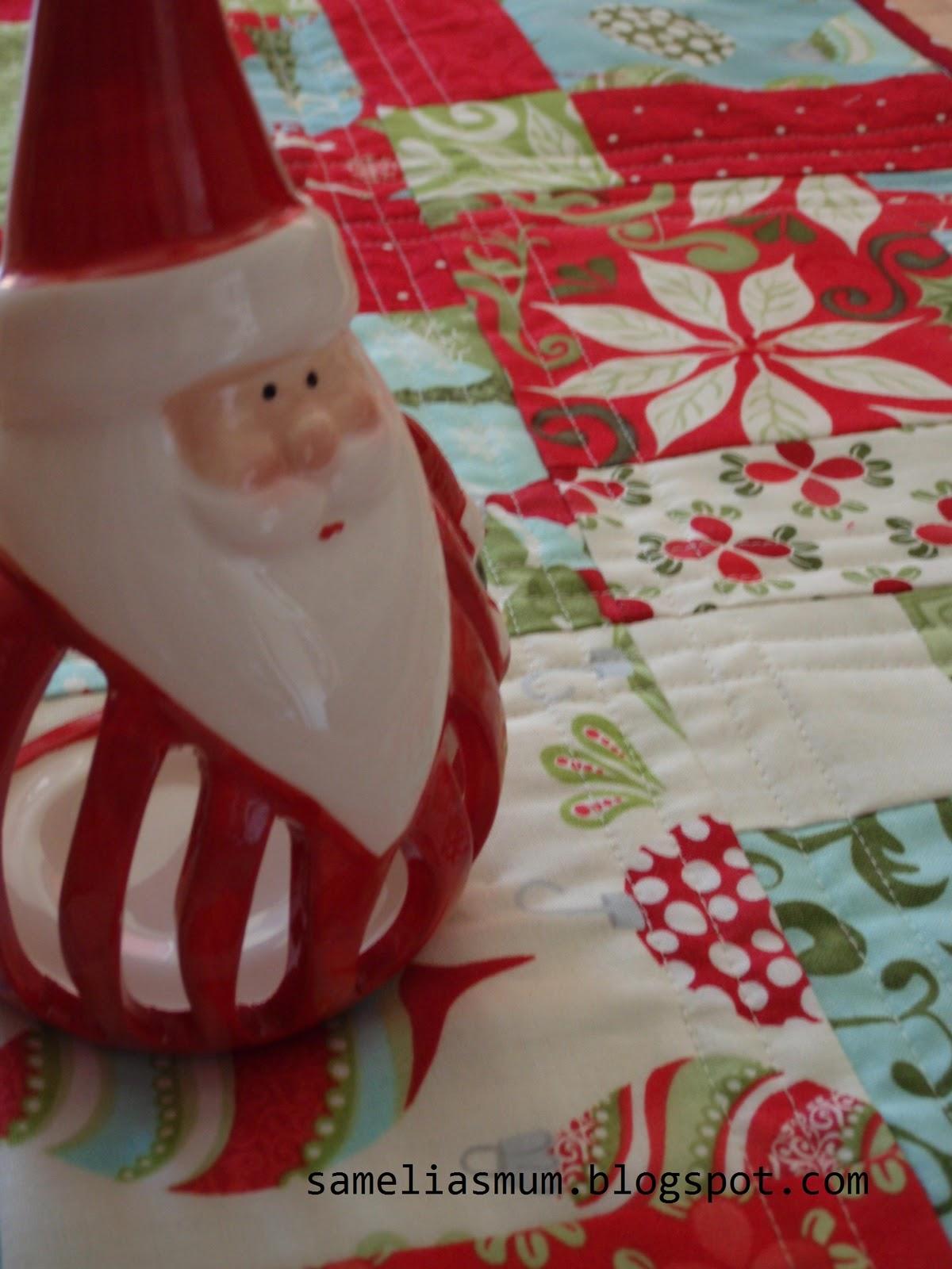 Christmas Table Runner To Make.12 Days Of Christmas Runner Samelia S Mum