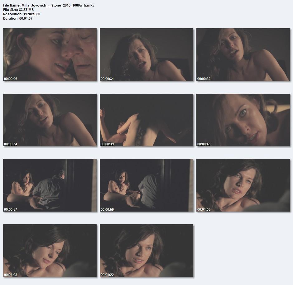 milla jovovich sex video