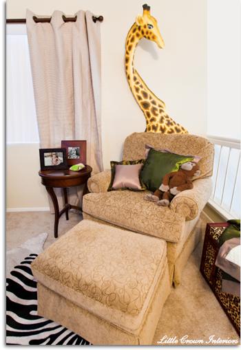 Custom nursery art by kimberly baby boy safari room from - Little crown interiors ...
