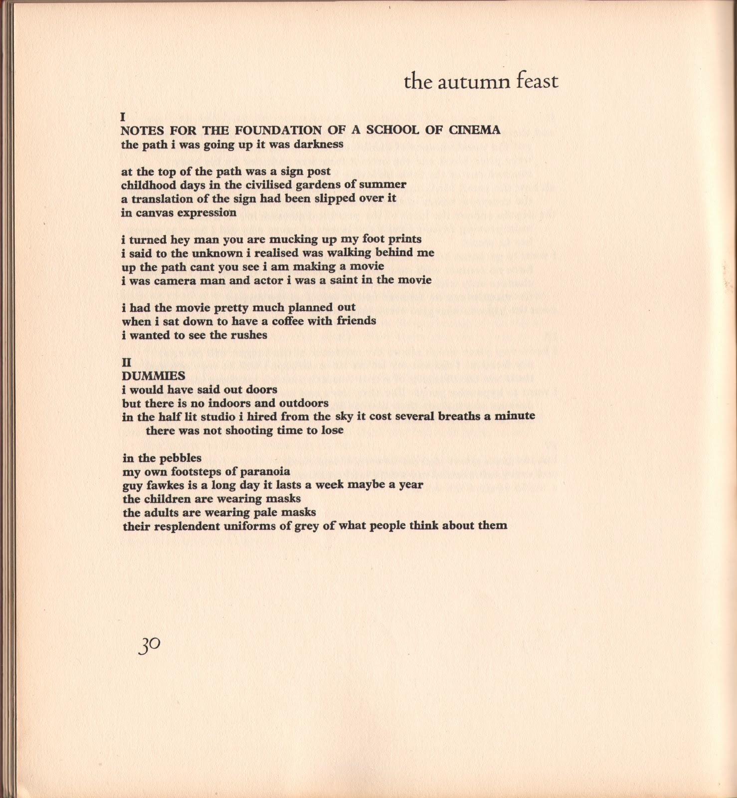 Soap opera poem